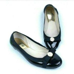 Michael Kors Patent Leather Dixie Ballet Flats 9 M